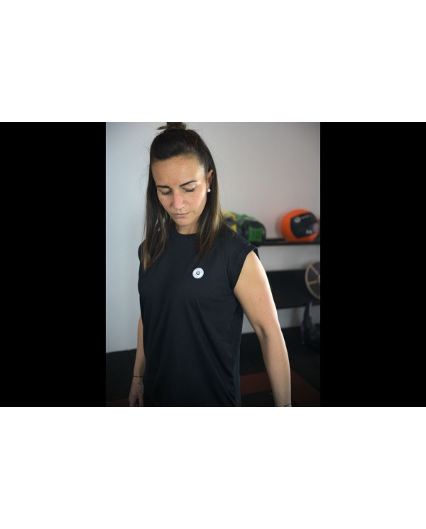 T-shirt coupe fluide noir